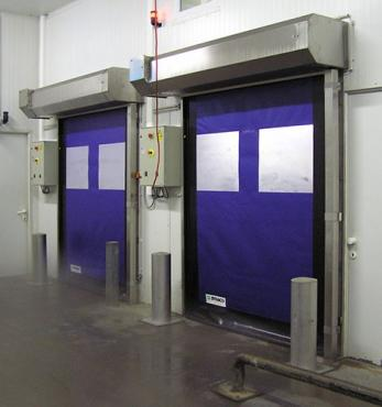 dynaco food processing roll up door
