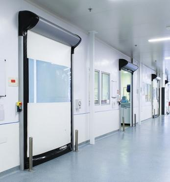 dynaco pharmaceutical roll up doors